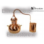 Still copper distiller 5,5 liters