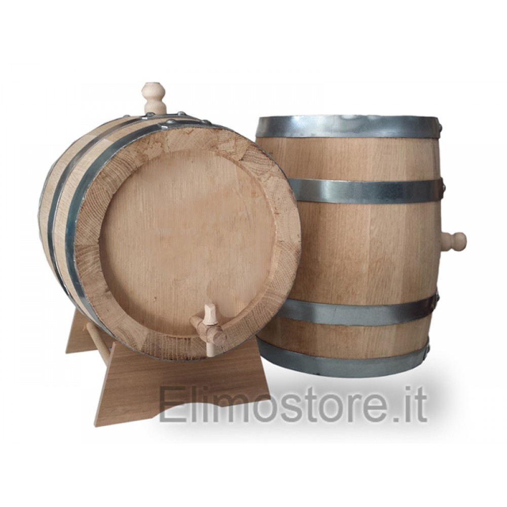 Oak Barrels 15 liter Thickness 2,5 cm