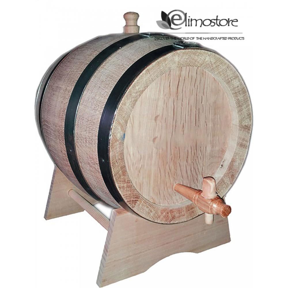 New cherry wood barrel, 10 lt