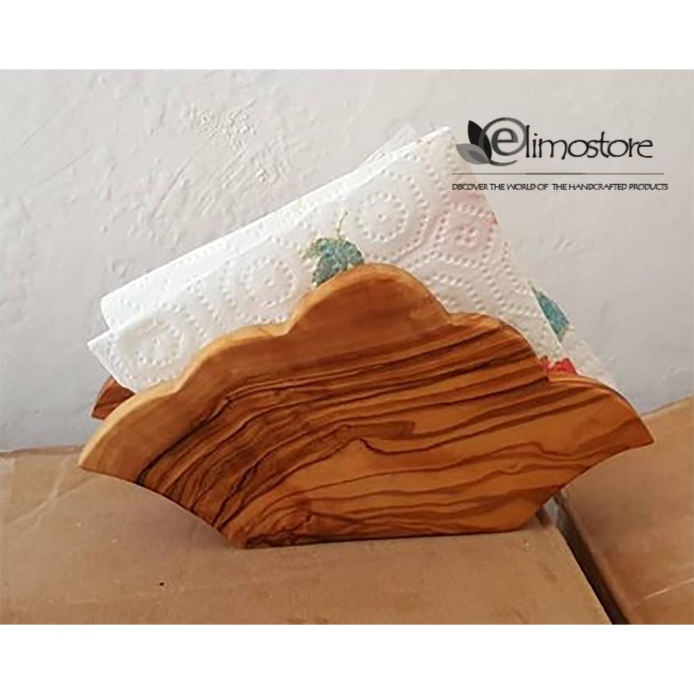 Towel holder olive wood