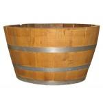 Half chestnut barrel 50 lt