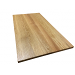 Table top In chestnut thickness 40 mm
