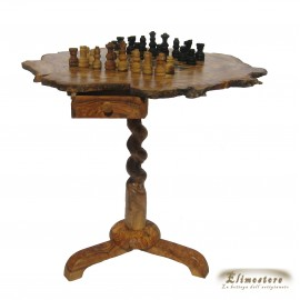 Chessboard in olive wood